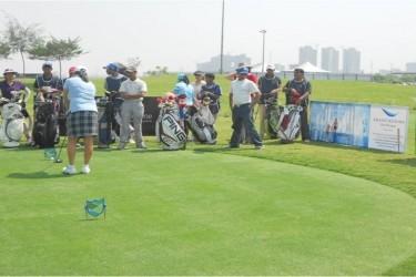 GRBR participation at Unitech Golf event