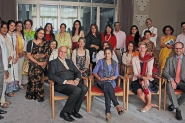 A Bespoke evening at the Swiss Embassy hosted by Grand Resort Bad Ragaz and Luxepointindia