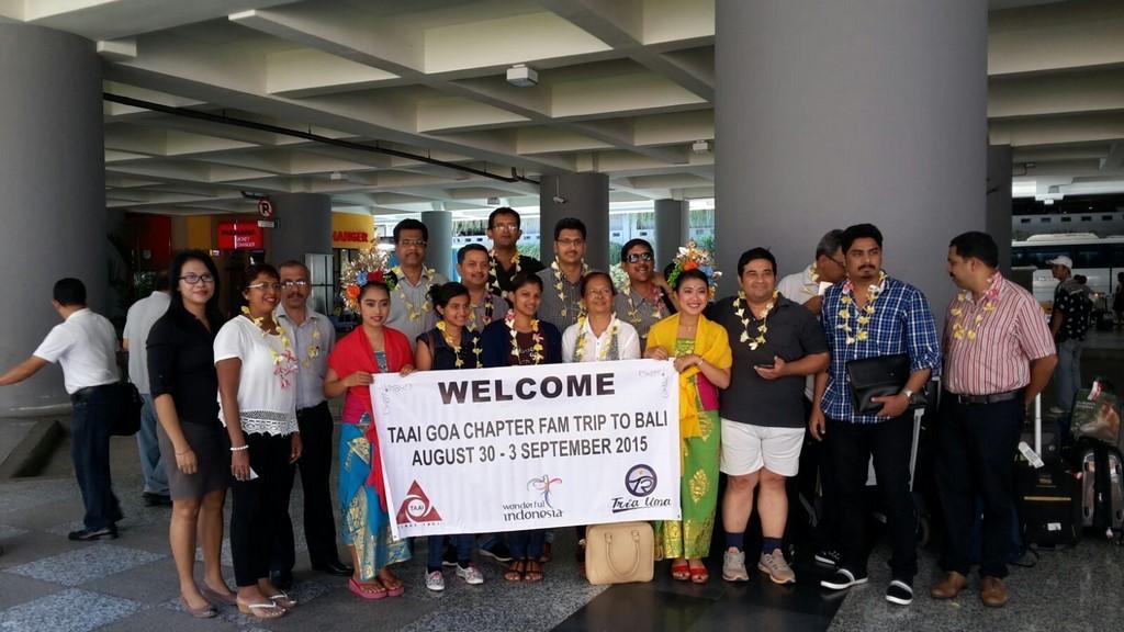 VITO - TAAI GOA Chapter FAM Trp to Bali
