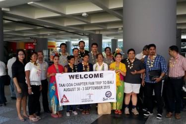 VITO – TAAI GOA Chapter FAM Trp to Bali