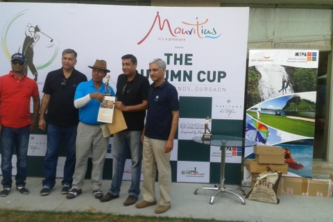 "Mauritius Tourism Promotion Authority, India sponsored ""The Autumn Trophy"" Golf tournament"